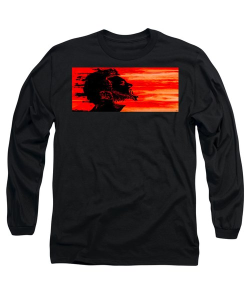 Break Long Sleeve T-Shirt by Ken Walker