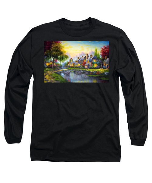 Bridge Over Troubled Waters Long Sleeve T-Shirt