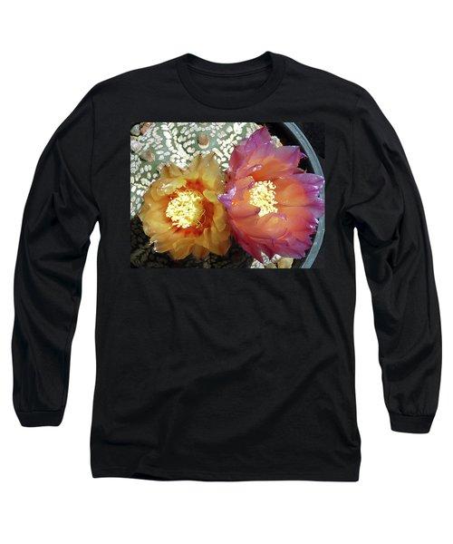 Cactus Flower 3 Long Sleeve T-Shirt