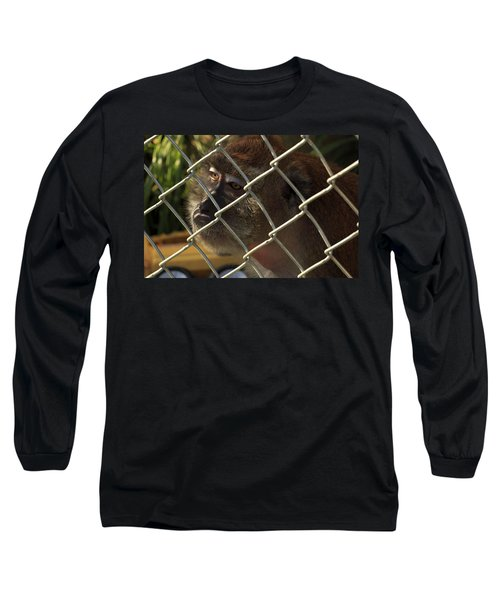 Caged Monkey Long Sleeve T-Shirt