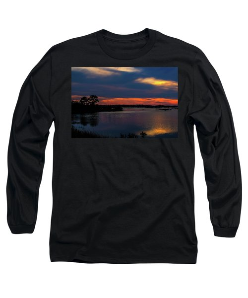 Long Sleeve T-Shirt featuring the photograph Ceader Key Florida  by Louis Ferreira