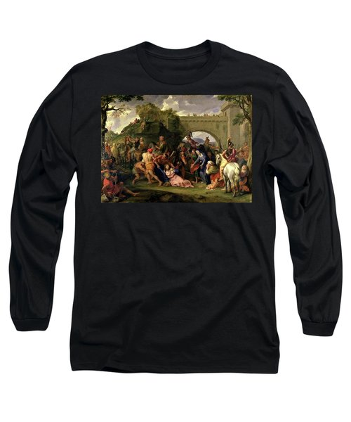 Christ Carrying The Cross Long Sleeve T-Shirt