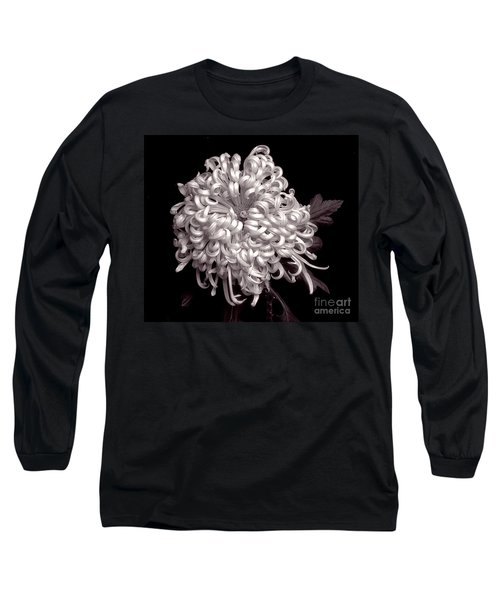 Chrysanthenmum 'satin Ribbon' Long Sleeve T-Shirt