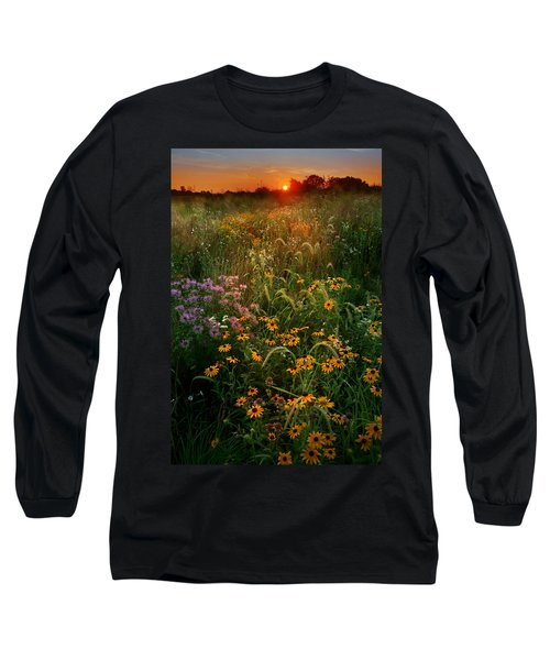 Colors Of Summer Long Sleeve T-Shirt by Rob Blair