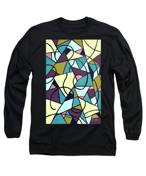Composition #22 Long Sleeve T-Shirt