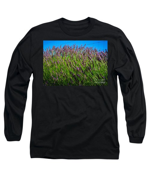 Country Lavender Iv Long Sleeve T-Shirt