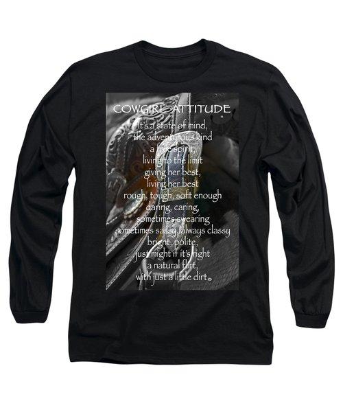 Cowgirl Attitude Long Sleeve T-Shirt
