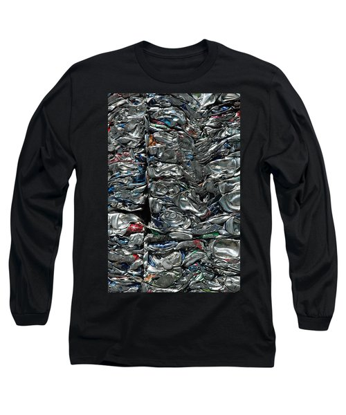 Crushed Cans Long Sleeve T-Shirt