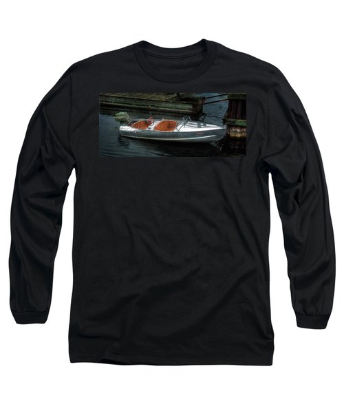 Cute Boat - 1948 Feather Craft Long Sleeve T-Shirt