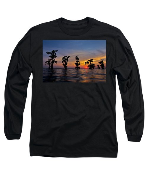 Cypress Trees Long Sleeve T-Shirt