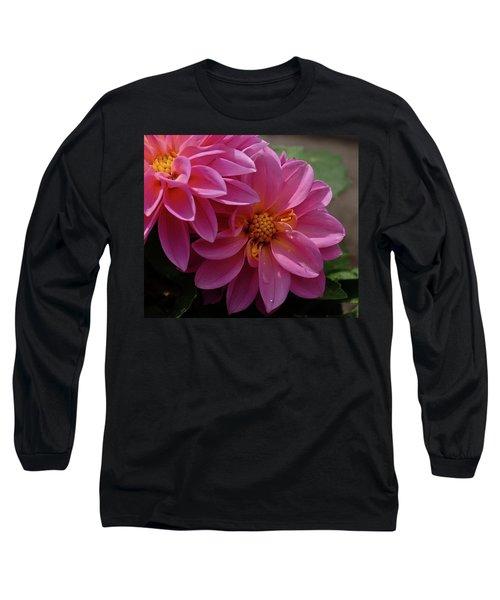 Dahlia Beauty Long Sleeve T-Shirt by Ronda Ryan