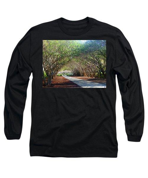 Dallas 1 Of 5 Long Sleeve T-Shirt by Tina M Wenger