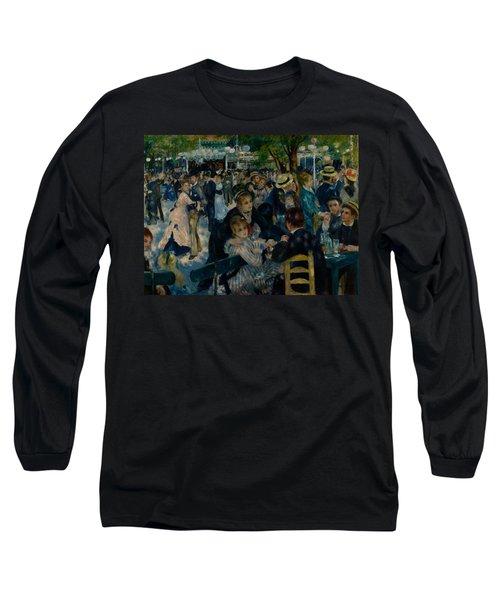 Dance At Le Moulin De La Galette  Long Sleeve T-Shirt
