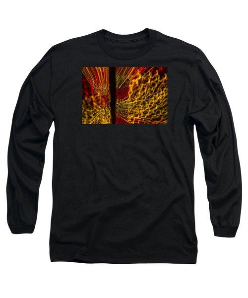 Dancing Lights 5  Long Sleeve T-Shirt by Penny Lisowski