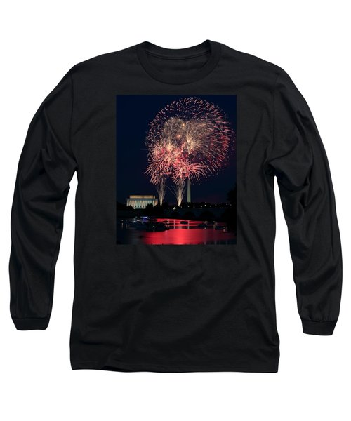 Dc 4th Of July Long Sleeve T-Shirt