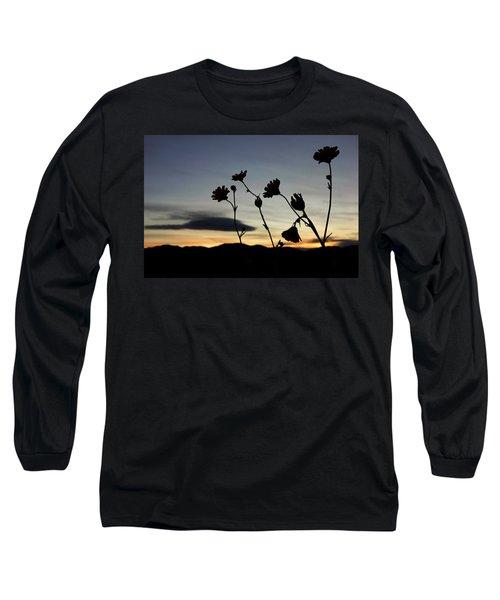 Death Valley Superbloom 104 Long Sleeve T-Shirt by Daniel Woodrum