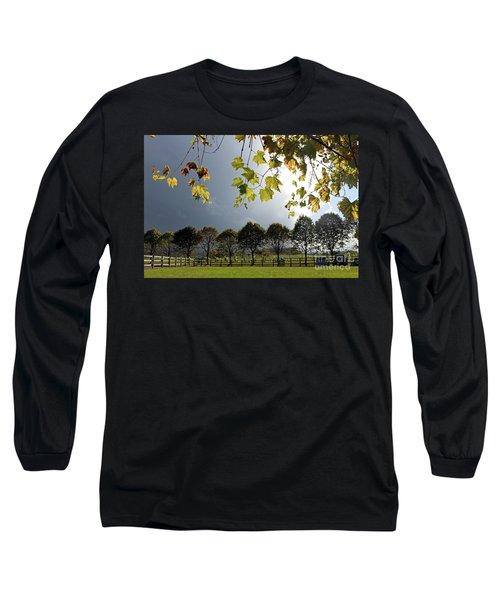 Denbies Vineyard Surrey Uk Long Sleeve T-Shirt