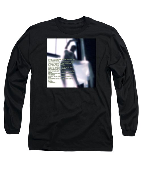 Desire Long Sleeve T-Shirt by Lisa Piper