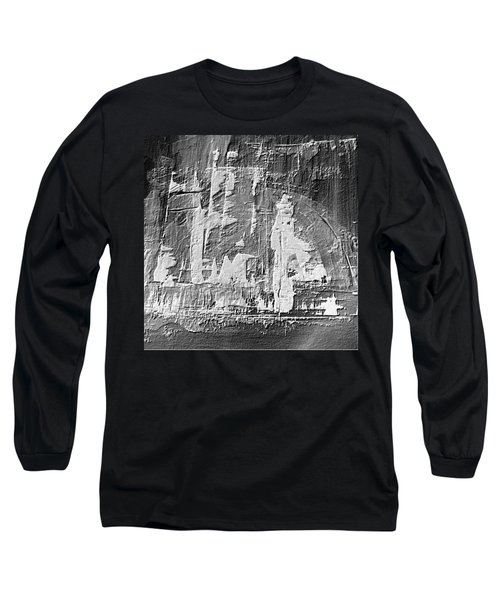 Long Sleeve T-Shirt featuring the painting Dj's World by 'REA' Gallery