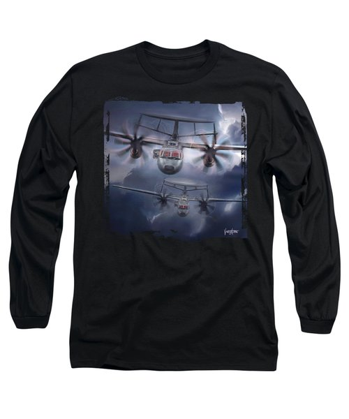 E-2d Hawkeye Long Sleeve T-Shirt