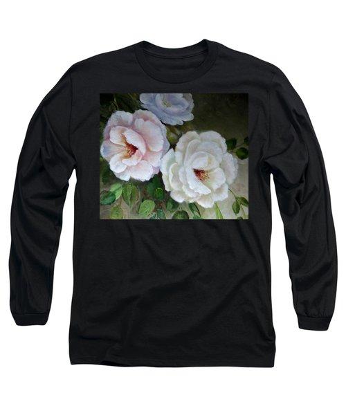 Etre Fleur  Long Sleeve T-Shirt by Patricia Schneider Mitchell