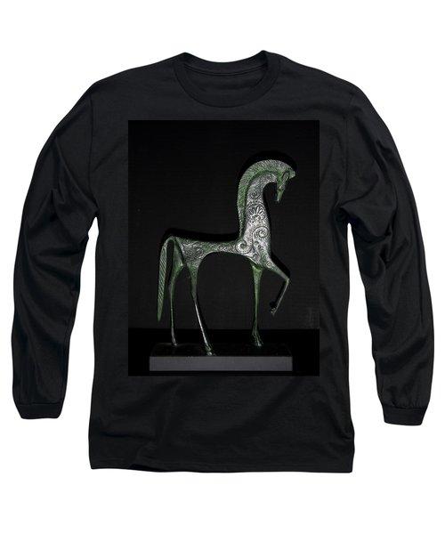 Etruscan Horse Long Sleeve T-Shirt