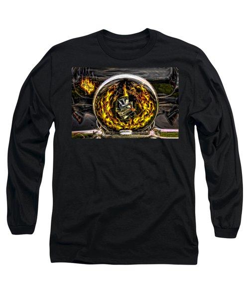 Evil Ways Long Sleeve T-Shirt by Jerry Golab