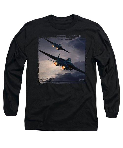 F-14 Flying Iron Long Sleeve T-Shirt