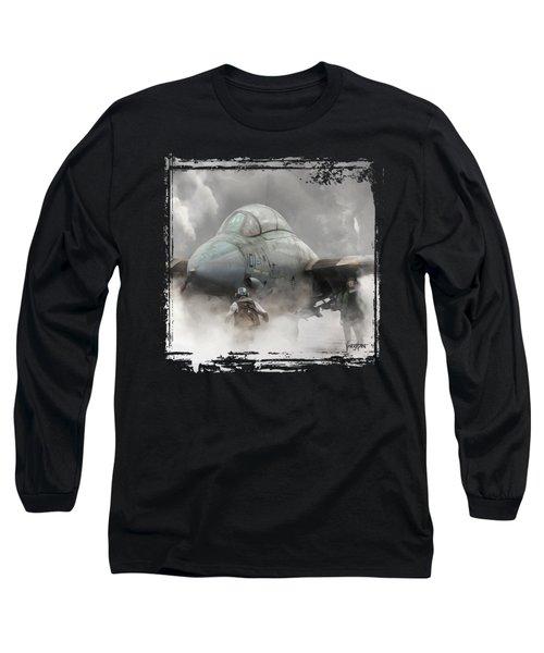 F-14 Smokin' Hot Long Sleeve T-Shirt