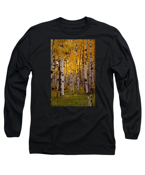 Long Sleeve T-Shirt featuring the photograph Fall At Snowbowl by Tom Kelly