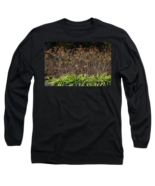 Long Sleeve T-Shirt featuring the photograph Fall Contrasts by Deborah  Crew-Johnson
