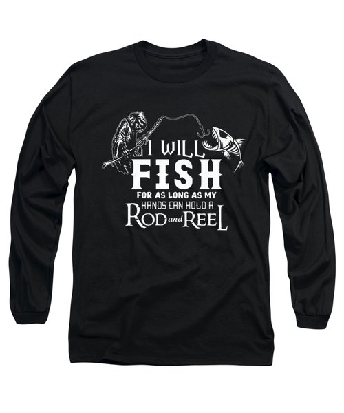 Fishing Long Sleeve T-Shirt by Thucidol