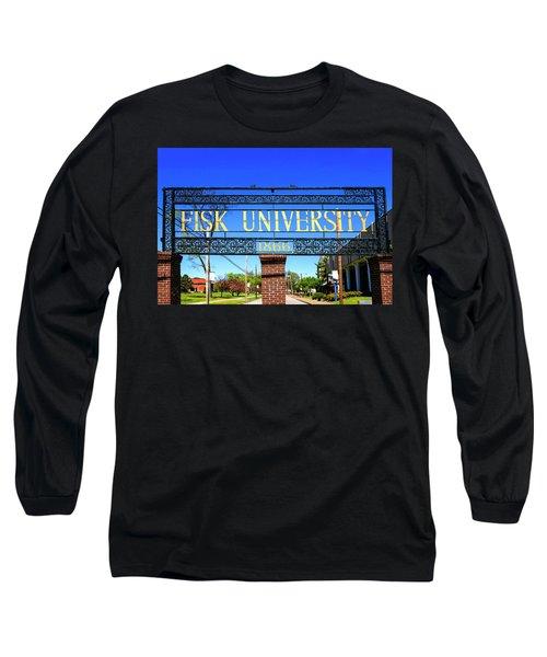 Fisk University Nashville Long Sleeve T-Shirt