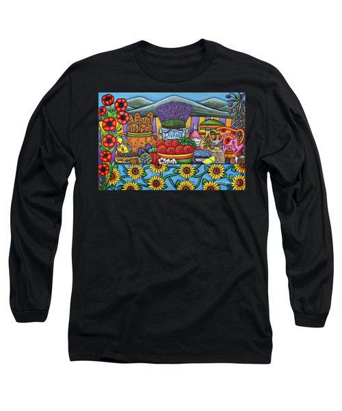 Flavours Of Provence Long Sleeve T-Shirt