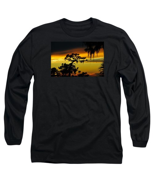 Central Florida Sunset Long Sleeve T-Shirt by David Lee Thompson