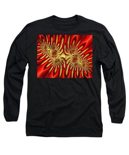 Fractal Landscape IIi Long Sleeve T-Shirt