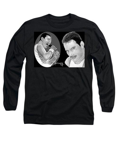 Freddie Mercury Long Sleeve T-Shirt