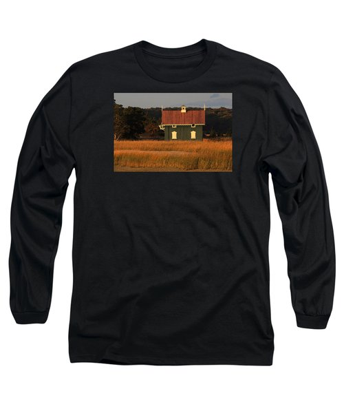 Gamecock Cottage Stony Brook New York Long Sleeve T-Shirt