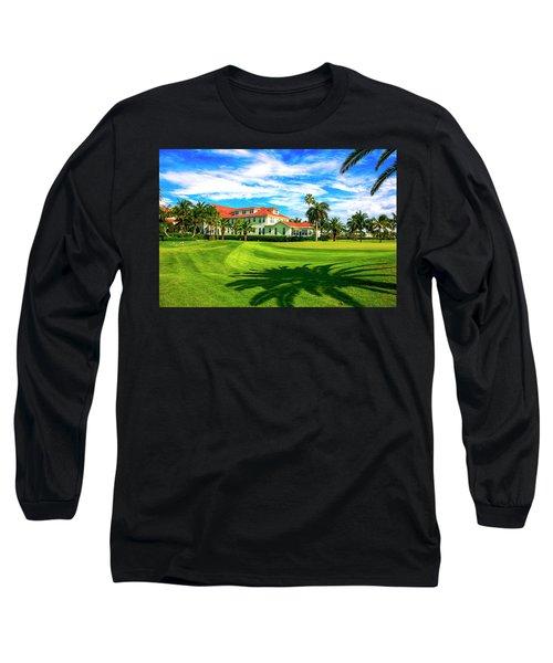 Gasparilla Inn, Boca Grande Fl Long Sleeve T-Shirt