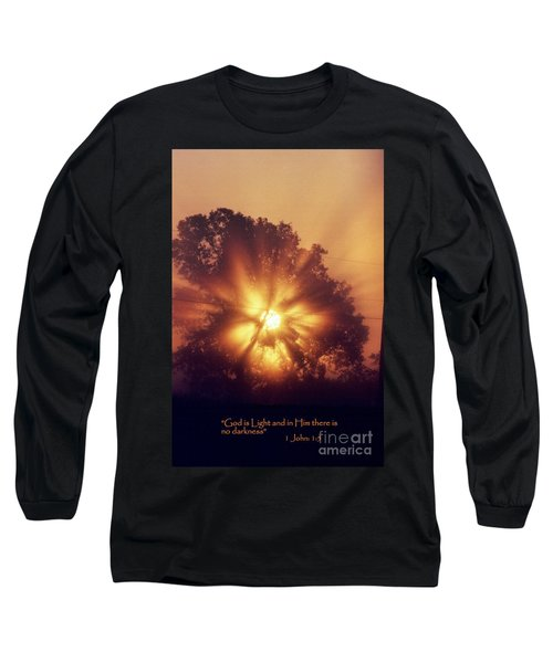 God Is Light Long Sleeve T-Shirt