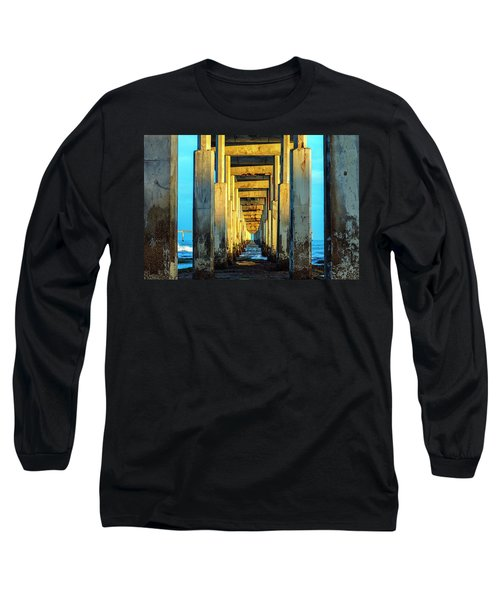 Golden Morning Long Sleeve T-Shirt by Joseph S Giacalone