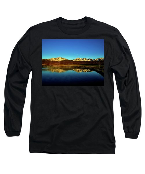 Good Morning Colorado Long Sleeve T-Shirt by L O C