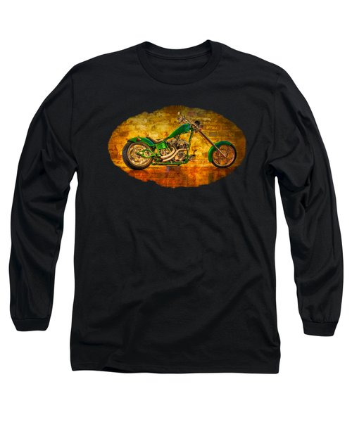 Green Chopper Long Sleeve T-Shirt