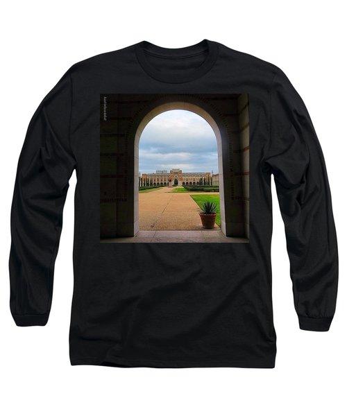 Greetings From Rice University. #framed Long Sleeve T-Shirt