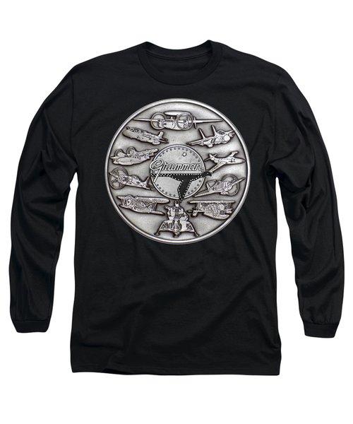 Grumman Coin Long Sleeve T-Shirt