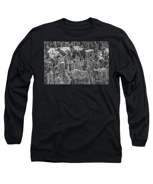 Long Sleeve T-Shirt featuring the photograph Hoodoos After A Snowfall by Sue Smith