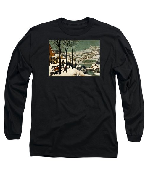 Hunters In The Snow Long Sleeve T-Shirt