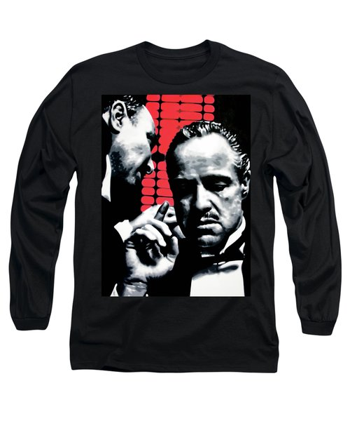 I Want You To Kill Him Long Sleeve T-Shirt by Luis Ludzska