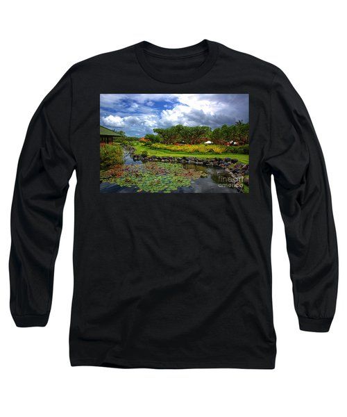 In Bali Long Sleeve T-Shirt by Charuhas Images
