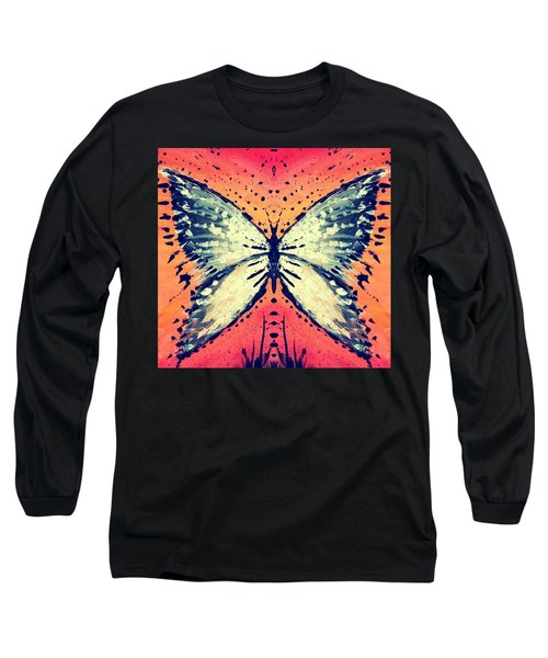 Long Sleeve T-Shirt featuring the painting In Flight by 'REA' Gallery